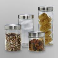 Anchor Hocking 4-Piece Glass Canister Set at Kmart.com