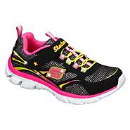 Skechers Girl's Light Dreamz II Sneaker - Black Multi at Sears.com