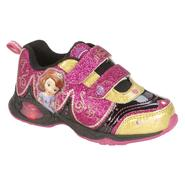 Disney Girls' Toddler Princess Sofia Black/Gold/Pink Sneakers at Kmart.com