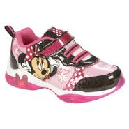 Disney Toddler Girl's Sneaker Minnie Bowtique - Pink/Black at Kmart.com