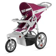Instep Safari Single Jog Stroller - Wine & Gray at Kmart.com
