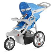 In Step Safari Single Jog Stroller - Cobalt & Gray at Kmart.com