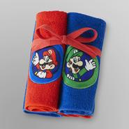 Nintendo Super Mario Washcloths - 4 Pack at Kmart.com
