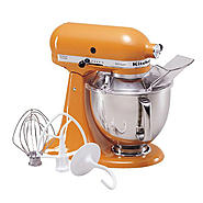 KitchenAid Artisan® Series 5 Qt. Tangerine Stand Mixer at Sears.com