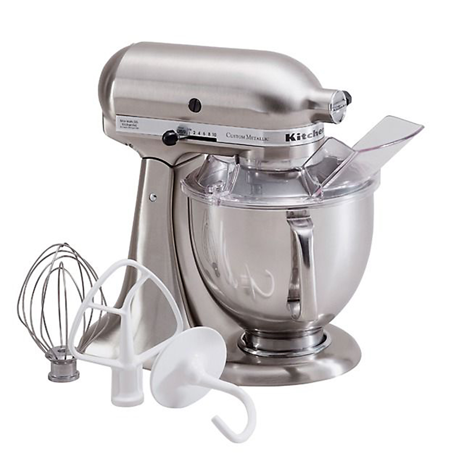 KitchenAid  Custom Metallic Series 5 Quart Stand Mixer - Brushed Nickel