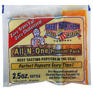 Great Northern Popcorn Case (24) of Two and a Half Ounce Popcorn Portion Packs at Sears.com