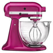 KitchenAid Artisan Design Series Raspberry Ice 5 Quart Stand Mixer with Glass Bowl at Sears.com