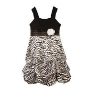 Amy's Closet Girl's Bubble Dress - Zebra Print at Sears.com