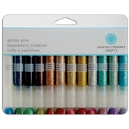 Martha Stewart Glitter Glue Set 24/Pkg .33 Fluid Ounce Each at Kmart.com