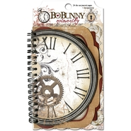 "Timepiece Noteworthy Spiral Bound Die Cuts 4""X6"" 24 Journal Pages & 1 Transparency at Kmart.com"