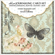 "In Love Double Sided Journaling Cards 18/Pkg Journaling, Motif & Calendar 3.5""X3.75"" at Kmart.com"
