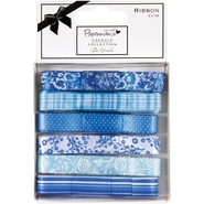 Papermania Burleigh Blue Ribbon Carded 6 Styles/1 Meter Each at Kmart.com