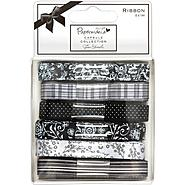 Papermania Bexley Black Designer Ribbon Carded 6 Styles/1 Meter Each at Kmart.com