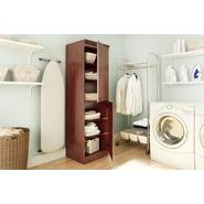 South Shore Morgan Narrow Storage Cabinet Royal Cherry at Sears.com