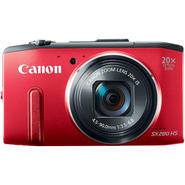 Canon PowerShot SX280 HS Red 12.1MP Digital Camera with Built-in Wi-Fi at Kmart.com