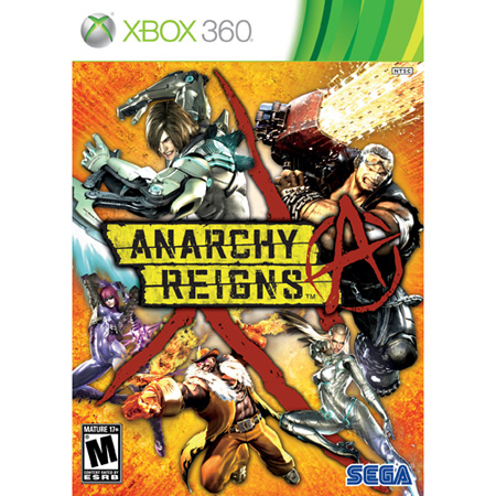 Sega  Anarchy Reigns - Xbox 360