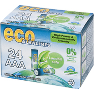 Eco Alkalines Eco Alkaline Eco Responsible Batteries - AAA 24 Pack at Kmart.com