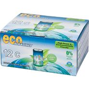Eco Alkalines Eco Alkaline Eco Responsible Batteries - C Cell 12 Pack at Kmart.com