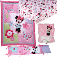 Minnie Mouse 4 PC. Crib Set with Sheet & Blanket Baby Bundle at Kmart.com