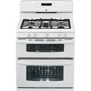 Kenmore 5.8 cu. ft. Double-Oven Gas Range - White at Kenmore.com