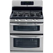 "Kenmore 30"" Double-Oven Freestanding Gas Range - Stainless Steel w/ Black at Sears.com"