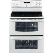 Kenmore 7.0 cu. ft. Double-Oven Electric Range w/ Convection - White at Kenmore.com