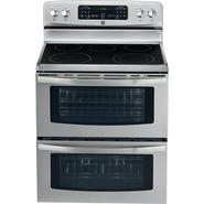 Kenmore 7.0 cu. ft. Double-Oven Electric Range w/ Convection - Stainless Steel at Kenmore.com