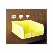 BinKit 10-7/8 In. L x 11 In. W x 5 In. H Yellow Polypropylene Hanging Bin & BinClip Kits, 6 CT at Kmart.com