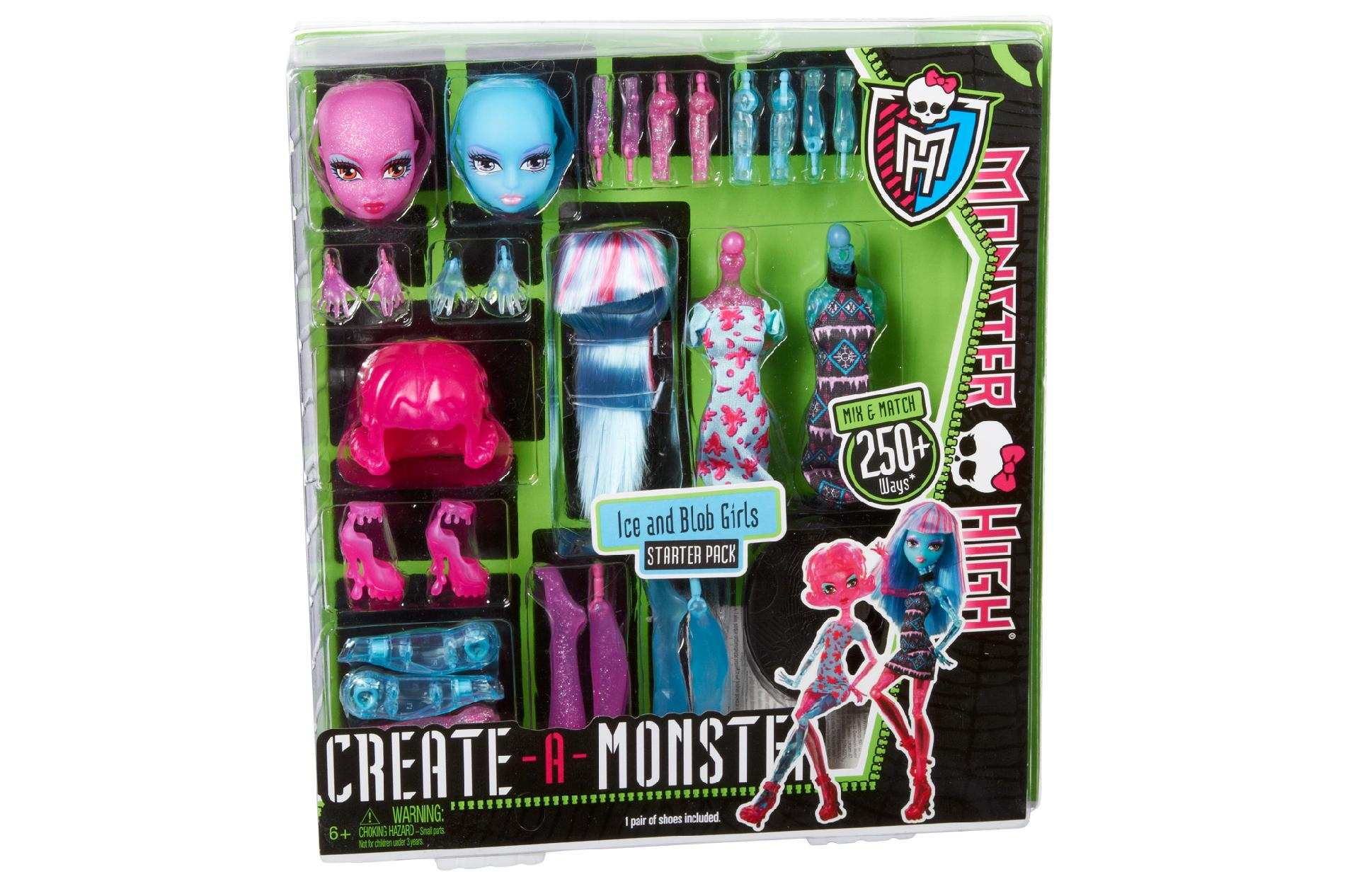 Monster High  Blob & Ice Girl Dreate A