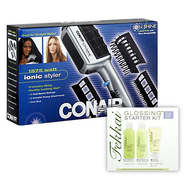 Conair Ion Shine Ionic Hair Styler & Styling Product Kit Bundle at Sears.com
