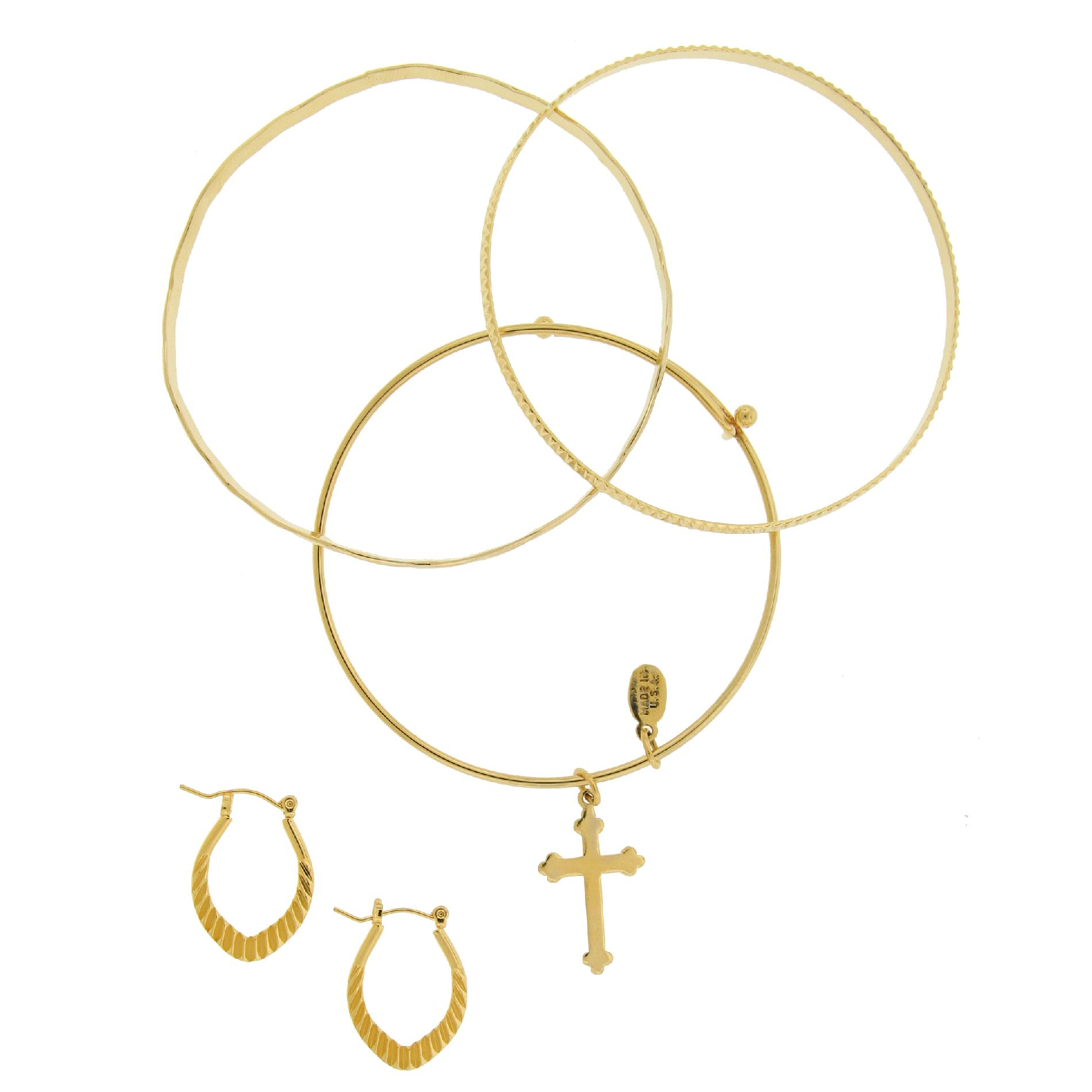 Classic Trends  Gold Plated Plated Cross