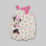 Disney Baby Minnie Mouse Infant Girl's Romper - Polka Dot at Kmart.com