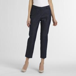 Larry Levine Women's Skinny Leg Ankle Pants at Sears.com