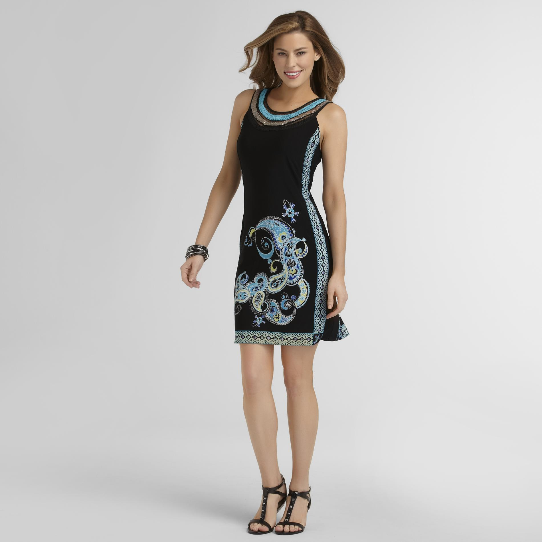 Studio 1 Women's Sleeveless Dress - Paisley at Sears.com