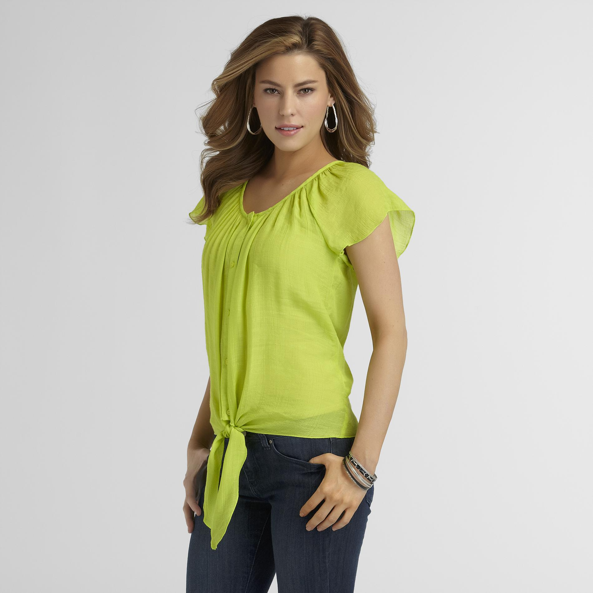 Cocomo Women's Peasant Top at Sears.com