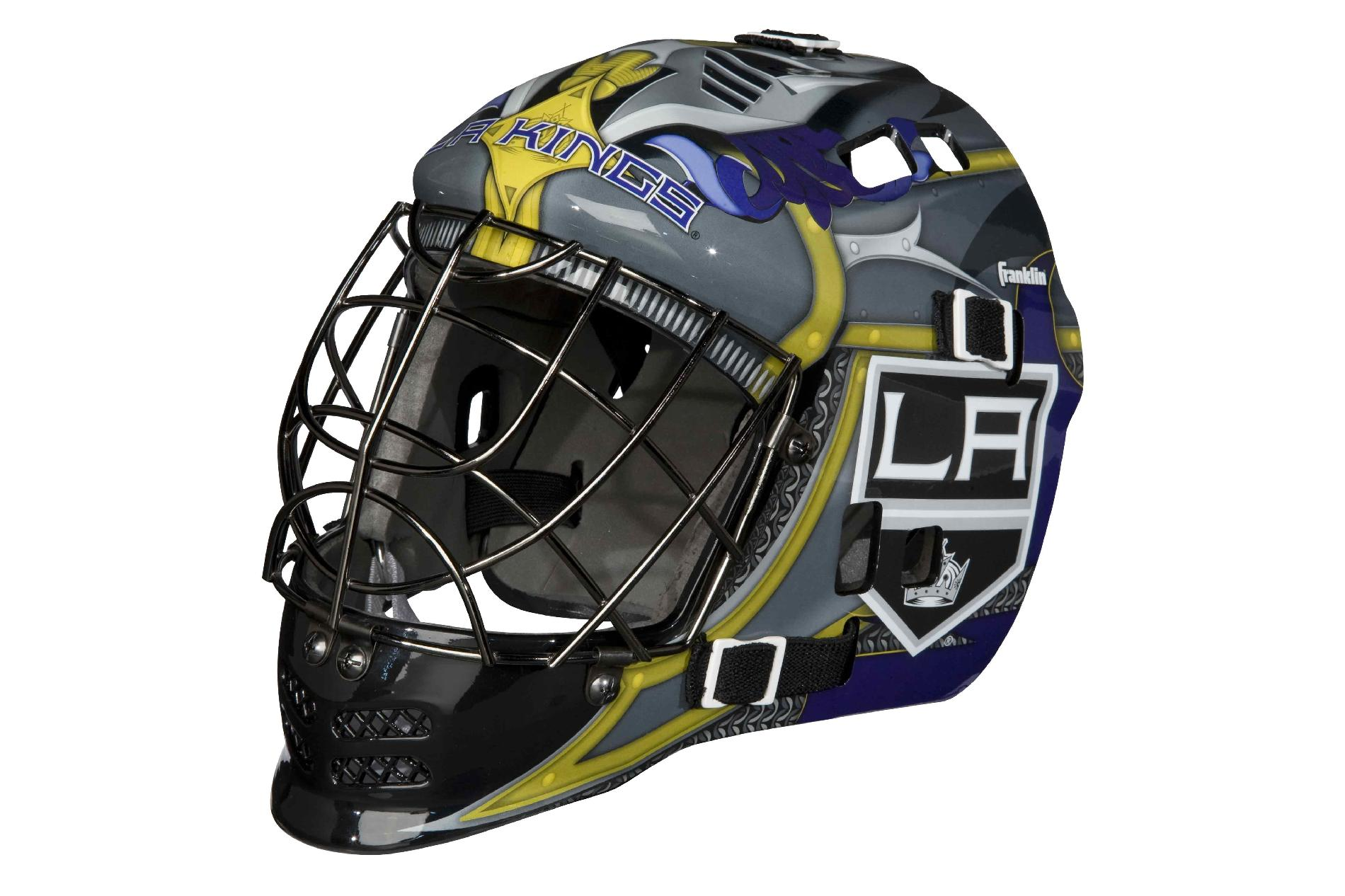 Franklin Sports NHL® Team SX Comp Goalie Mask 100 Goalie Face Mask (Kings)