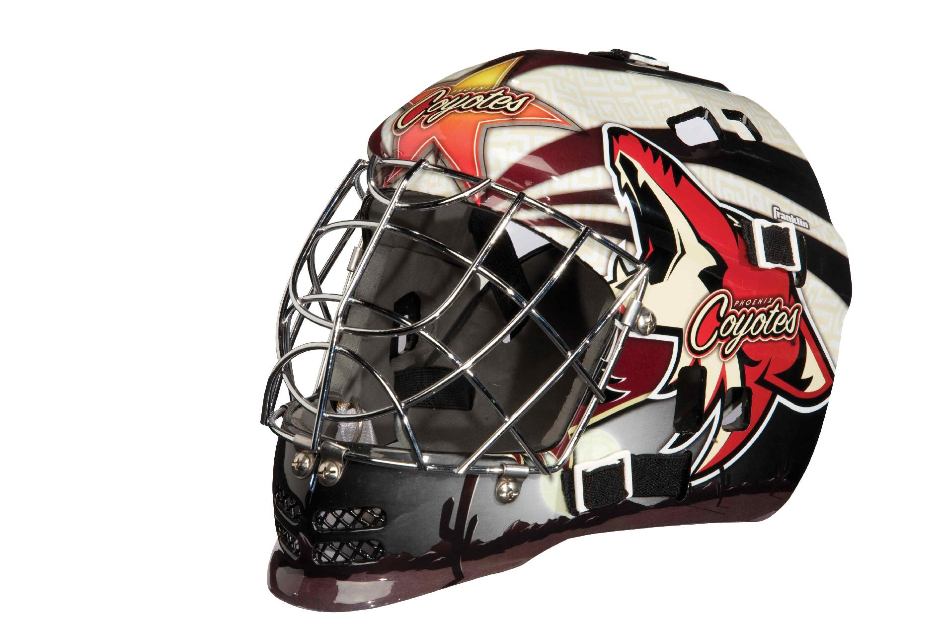 NHL® Team SX Comp Goalie Mask 100 Goalie Face Mask (Coyotes)