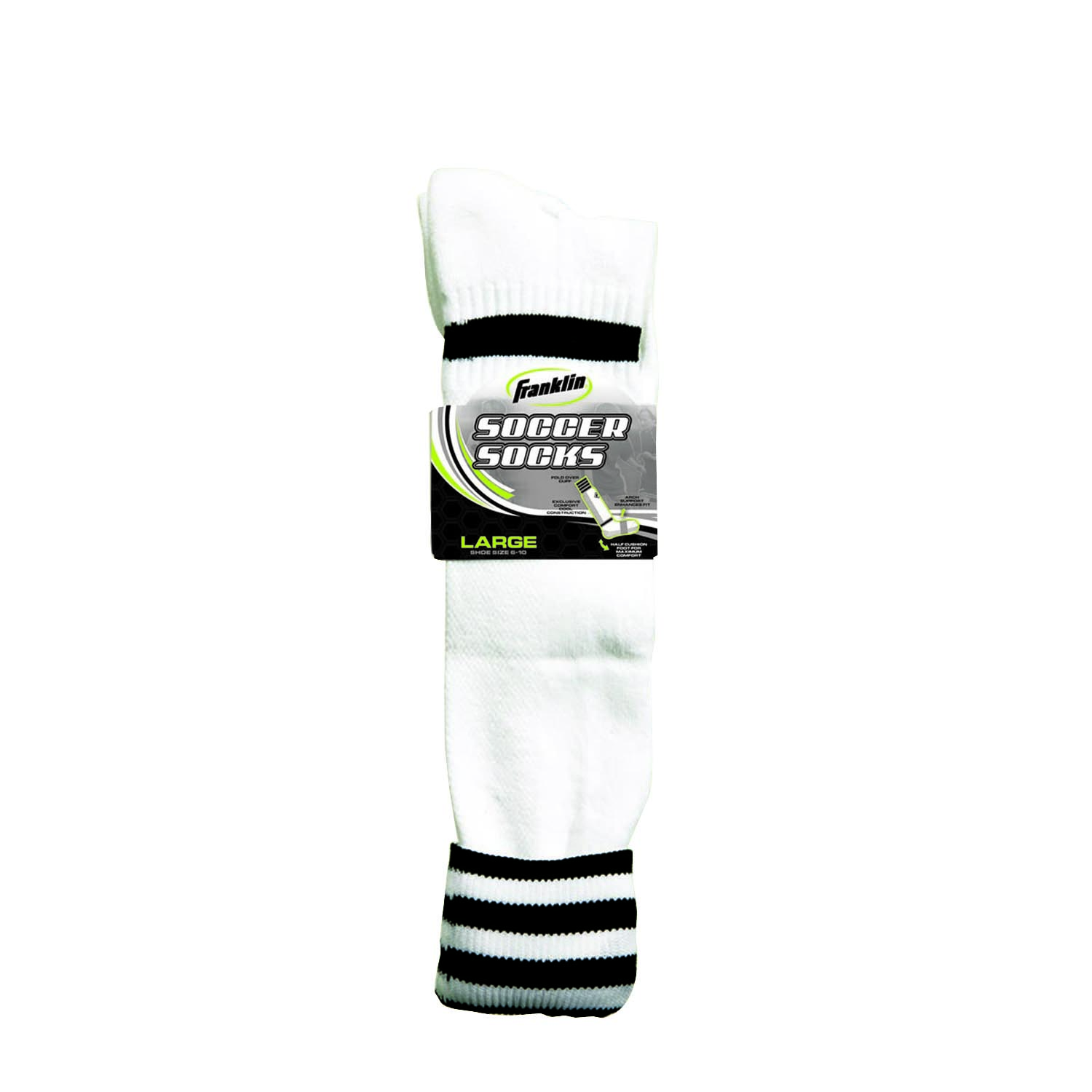 Franklin Sports  ACD Soccer Socks Black