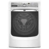 Maytag 4.3 cu. ft. Front-Load Washer w/ Steam - White at mygofer.com