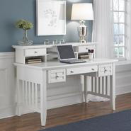 Home Styles Arts & Crafts White Executive Desk & Hutch at Kmart.com