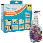 Dream Baby Bathroom Safety Value Pack & Babyganics Ba...