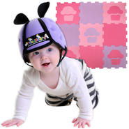Thudguard Baby Safety Helmet for Girls & Foam Floorin...