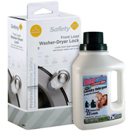 Safety 1st Front Load Washer Dryer Lock & BabyGanics ...