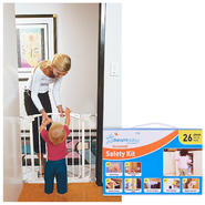 Dream Baby Swing Closed Security Gate with Extension & Childproofing Safety Kit Bundle at Kmart.com