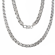 Men's Stainless Steel Steel Flat Mariner Link Chain at Sears.com