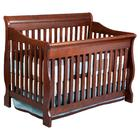 Delta Canton 4-in-1 Convertible Crib in Cherry