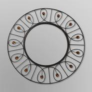 Elements Round Decorative Mirror - Jeweled at Kmart.com