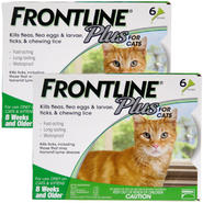 Frontline Plus Flea & Tick for Cats and Kittens 8 Weeks or Older, 12 Month at Kmart.com