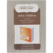 Classic Calico 2 Journal Kit 3X4 Woodgrain at Kmart.com