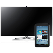 "Samsung 60"" Class 1080p Ultra Slim LED HDTV UN60F8000 & 7"" Galaxy Tablet Bundle at Sears.com"